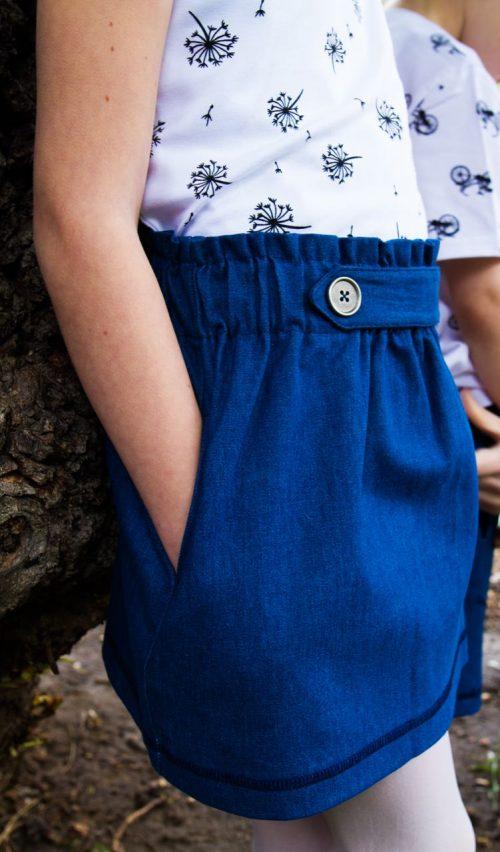 farmer szoknya - Bozoki Kids Fashion