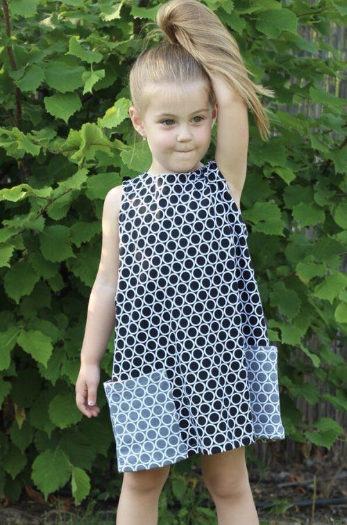 Sötét szürke jersey ruha - Bozoki Kids Fashion
