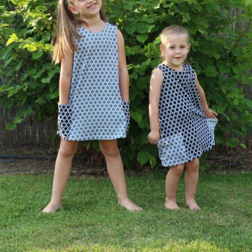 fekete kör ruha - Bozoki Kids Fashion