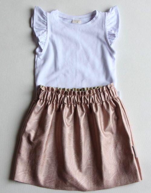 lazac bőr szoknya - Bozoki Kids Fashion